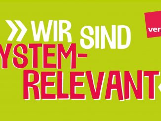 Öffentlicher Dienst - Wir sind Systemrelevant